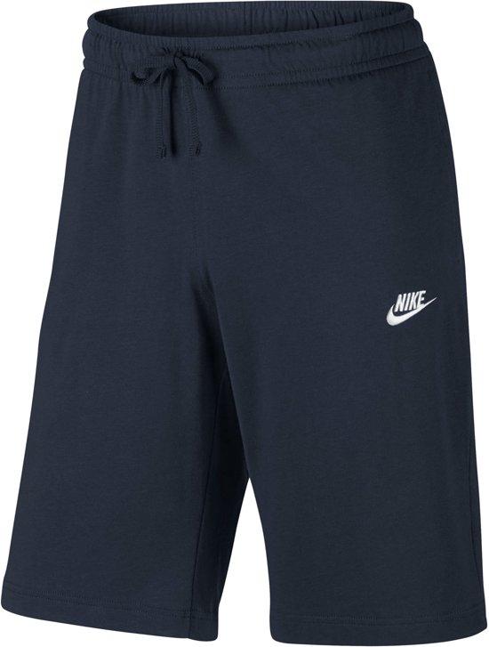 220b61ba173 Nike Sportswear Club Short Jersey Sportshort Heren - Obsidian/White