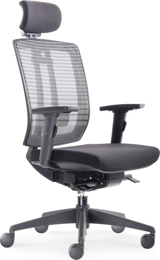 Bureaustoel Met Hoofdsteun.Bol Com Model Bens 816h Luxe Ergonomische Bureaustoel Met Hoofdsteun