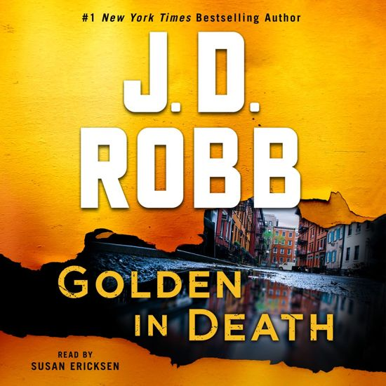Boek cover Golden in Death van J. D. Robb (Onbekend)