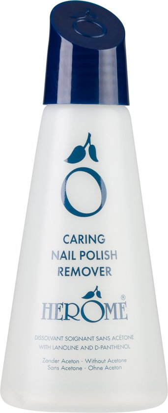 Herôme Caring Nail Polish Remover - 125 ml - remover