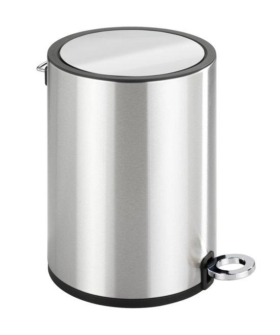 Brabantia Pedaalemmer Rvs.Pedaalemmer Rvs Glans 3 Liter Easy Close Afvalbak Prullenbak