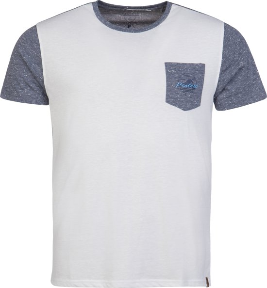 Protest SAVIER T-Shirt Heren - Deep Grey - Maat L
