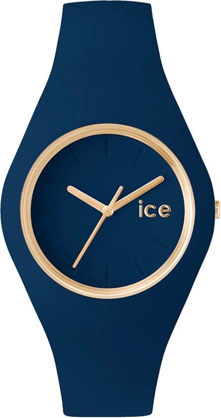Ice-Watch IW001055 Horloge - Siliconen - Blauw - Ø 34 mm