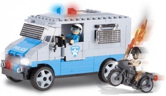 Cobi politiebus bouwstenen set