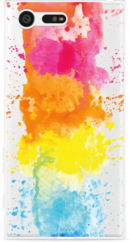 Sony Xperia X Compact Hoesje Color Splatters