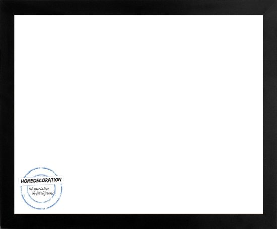 Homedecoration Misano – Fotolijst – Fotomaat – 77 x 91 cm  – Zwart mat