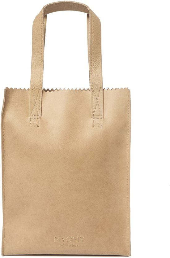 MYOMY My Paper Bag Longhandle Schoudertas - Blond