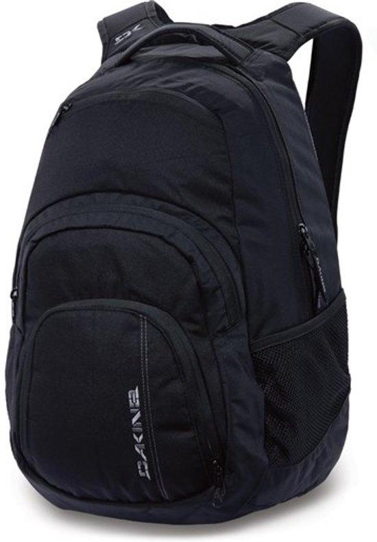 Zwart Pack Rugzak Dakine Liter Black Campus 25l 25 Laptop Bqqa76w