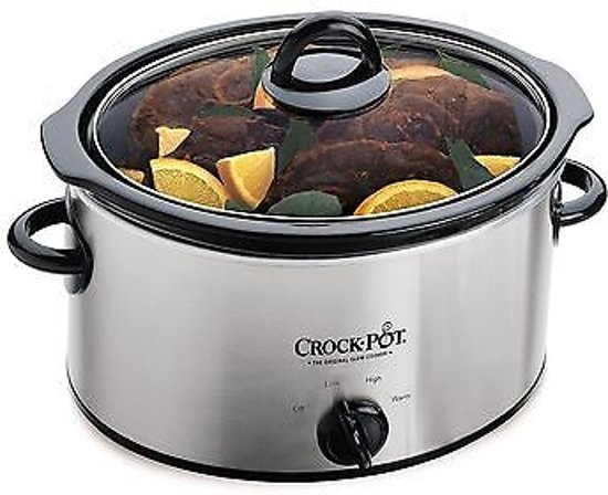 CrockPot Slow Cooker, 3.5 liter