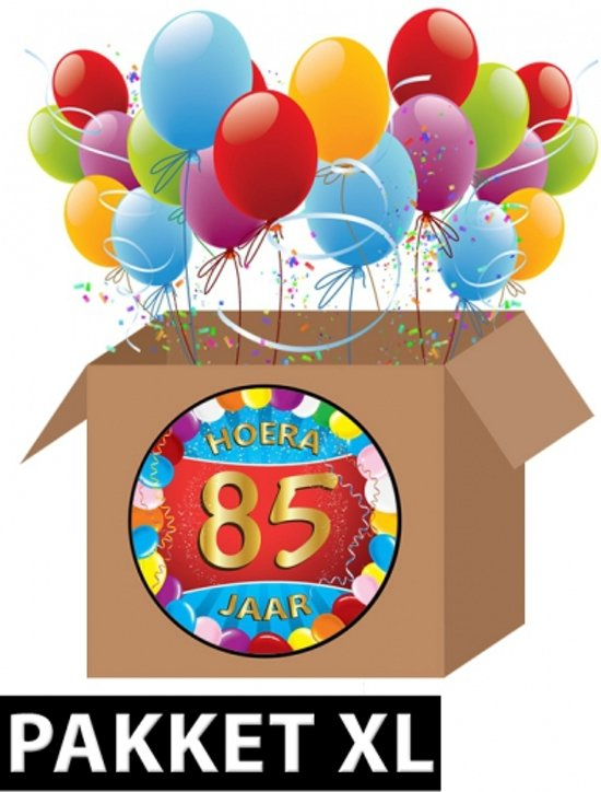 85 jaar bol.  85 jaar versiering voordeel pakket XL, Fun & Feest Party  85 jaar