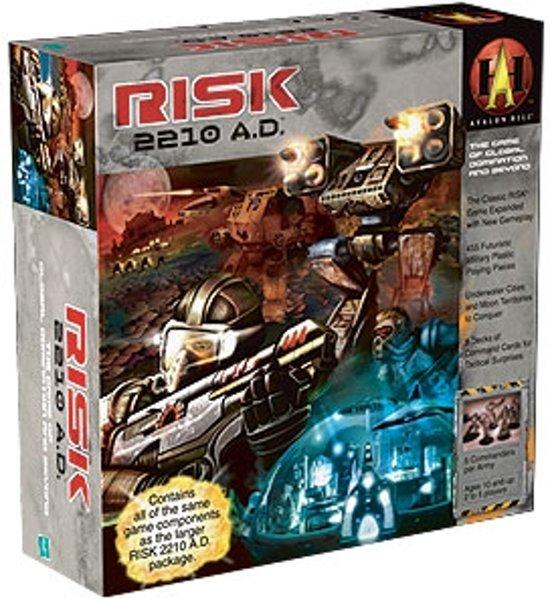 Risk 2210 A.D. - Bordspel - Engelstalig