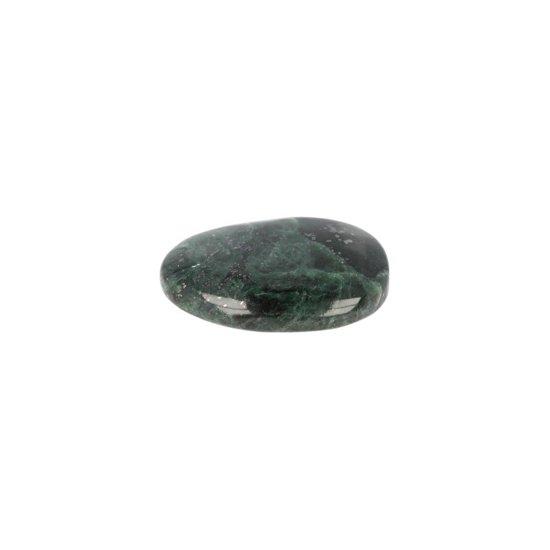 Zaksteen Jade donker - 4 cm - groen - 4 cm