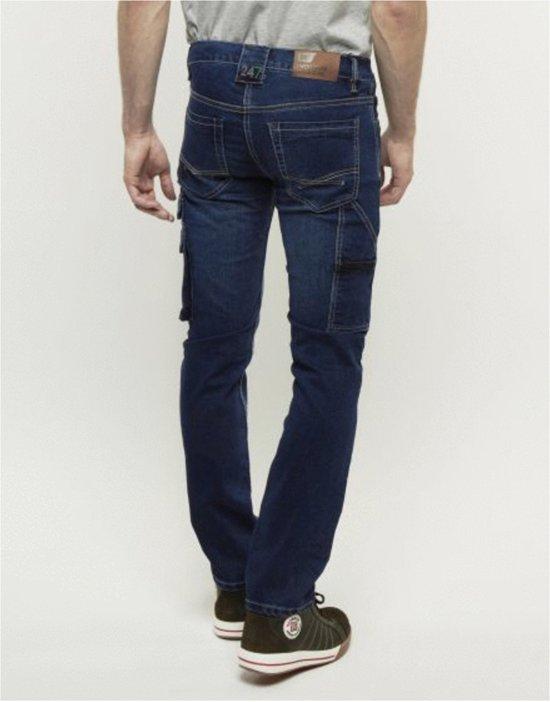 247 Jeans Spijkerbroek Rhino S20 Blauw - Werkkleding - L32-W32