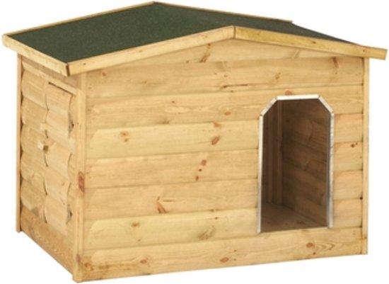 Woodvision - Hondenhok Labrador - Vuren - 92.5x118.5x92 cm