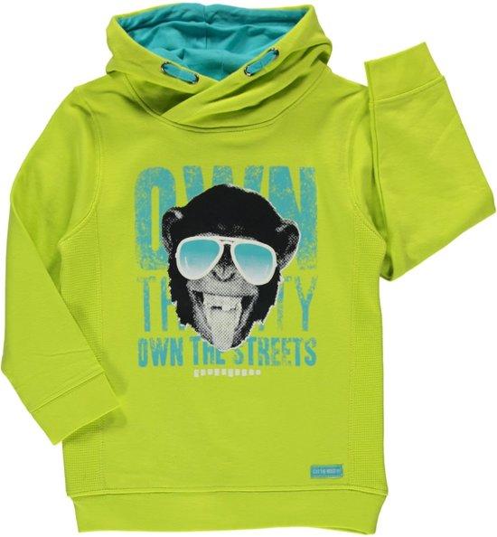 Blue Seven jongenskleding - Lime sweater - Maat 104