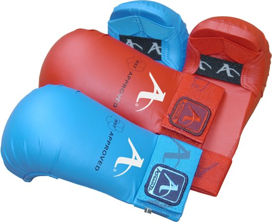 Karate-handschoenen (WKF-approved) Arawaza   rood   M