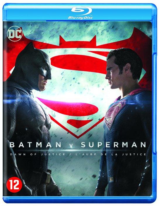 DVD cover van Batman v Superman : Dawn Of Justice (Blu-ray)