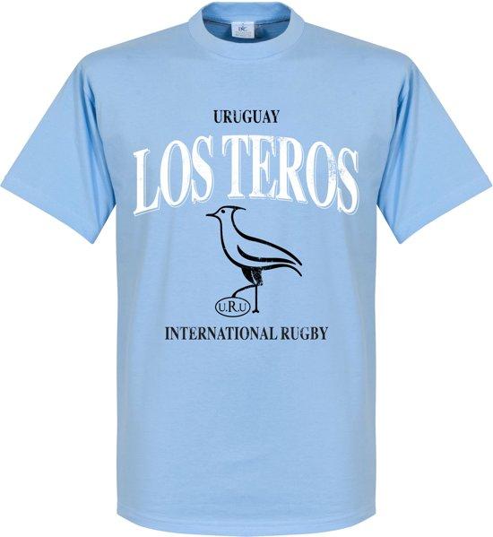 Uruguay Rugby T-Shirt - Lichtblauw - S
