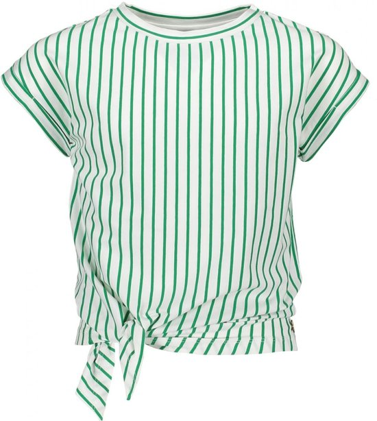 Street Called Madison Meisjes Luna YD Knotted T-shirt - Groen - Maat 116