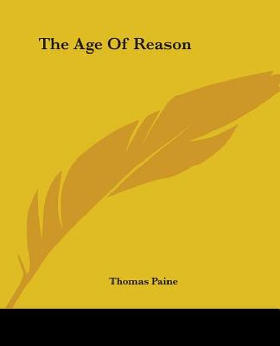 an analysis of contradictions in the age of reason by thomas paine