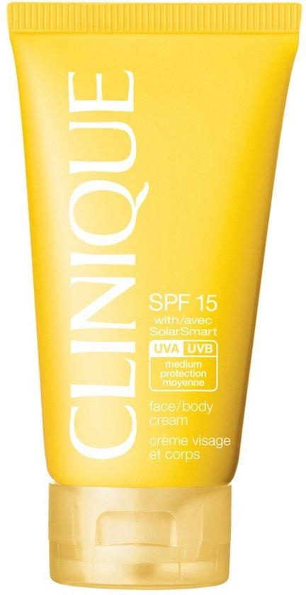 Clinique Face/Body Cream Zonnebrandcreme - SPF 15