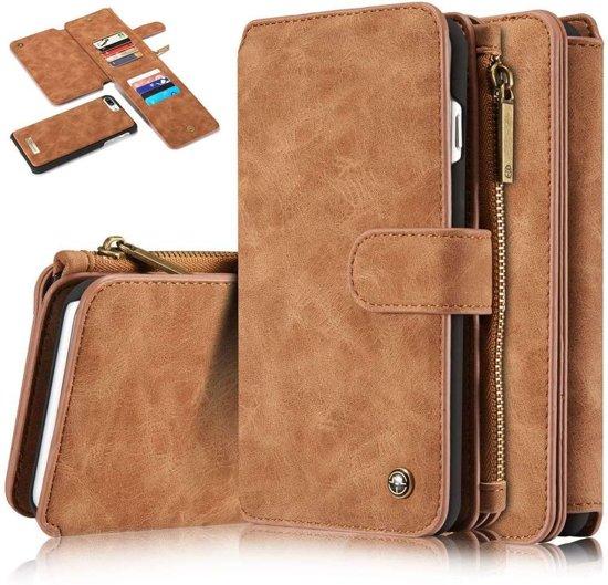 6a0098a55c1 bol.com   Caseme luxe portemonnee hoes iPhone 7 Plus / 8 Plus bruin