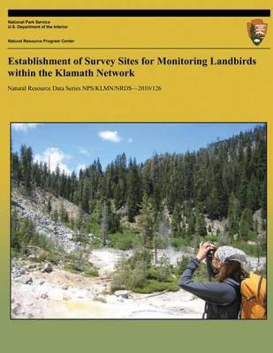Establishment of Survey Sites for Monitoring Landbirds Within the Klamath Network