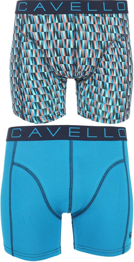705689ef13f bol.com | Cavello - 2-pack Boxershorts Print / Blauw - XL