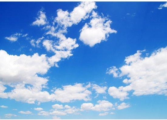 Fotobehang Meerdere Fotos.Bol Com Fotobehang Blauwe Lucht Met Wolken Vliesbehang 300x210cm