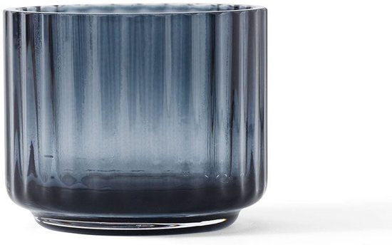 Lingby theelicht small blue