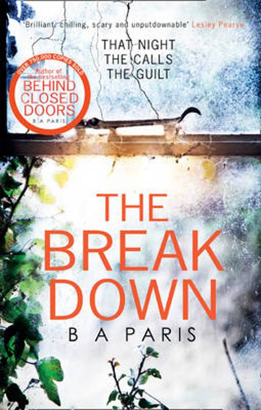 Boek cover The Breakdown van B.A. Paris (Onbekend)