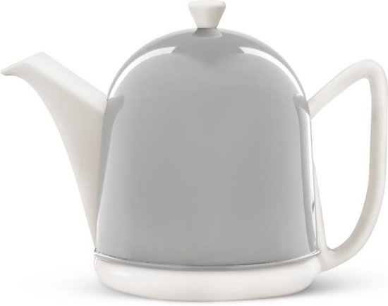 Bredemeijer Cosy Manto Theepot - 1 l - RVS - Cloudy Grey