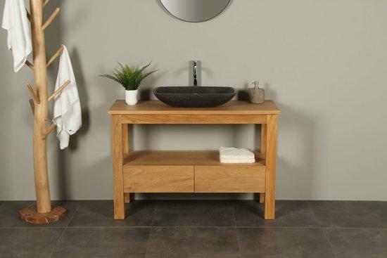 bol.com | Badkamermeubel console table houtsoort teak-120 cm.