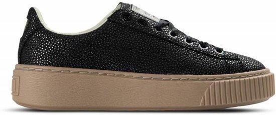 Sneakers Dames 37 Maat Platform Lux Zwart Puma 0Wdnpn