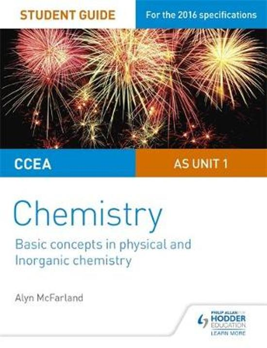 CCEA AS Unit 1 Chemistry Student Guide