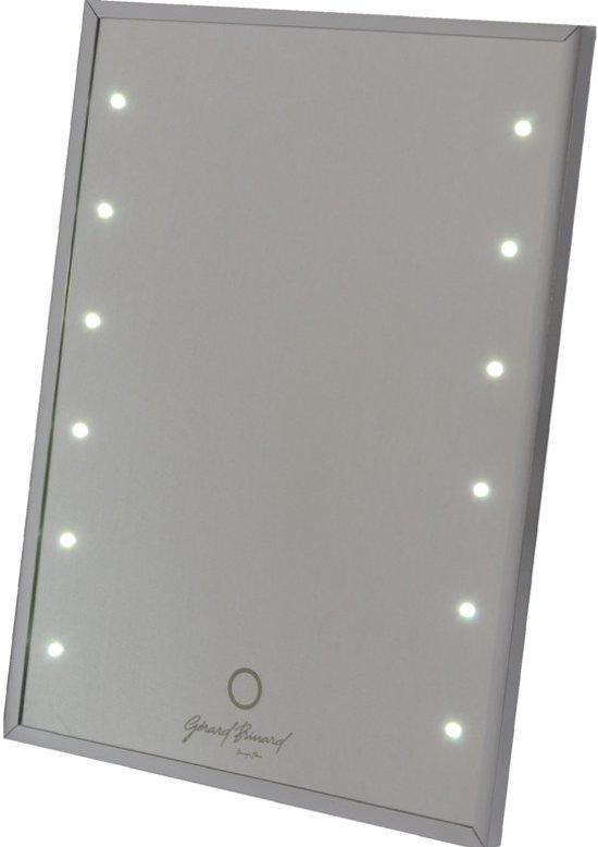 spiegel met touch led lichtjes 12 3 licht sterktes. Black Bedroom Furniture Sets. Home Design Ideas