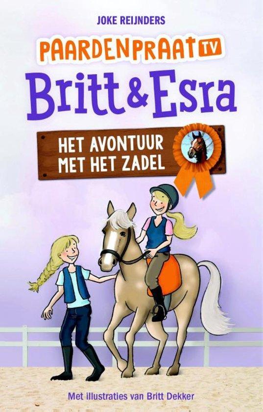 Paardenpraat tv Britt & Esra - Het avontuur met het zadel