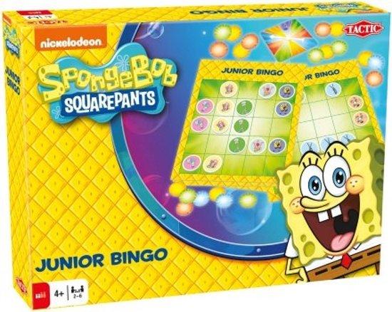 Afbeelding van het spel Spongebob Junior Bingo - Kinderspel