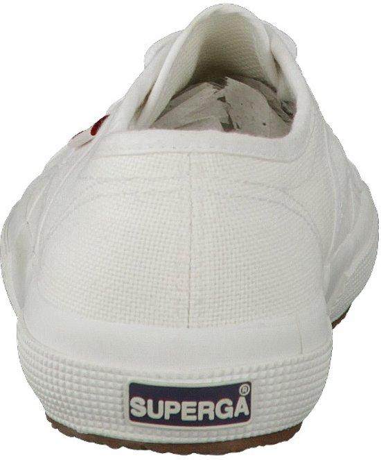 40 Superga Unisex Wit 2750 Sportschoenen Maat Classic Cotu YxYqnrX
