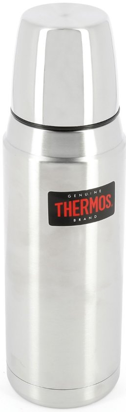 Thermos Heritage zilver thermosfles