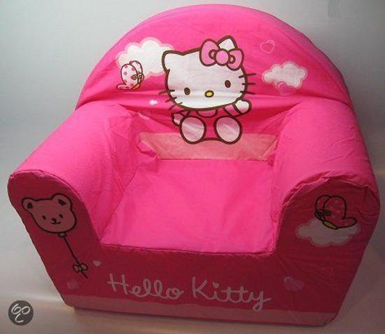 Zitzak Hello Kitty.Bol Com Hello Kitty Stoel Roze