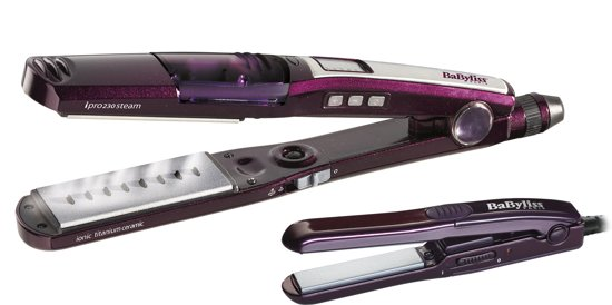 BaByliss  ST396E Steam Straightener - Stoom Stijltang + Mini Stijltang