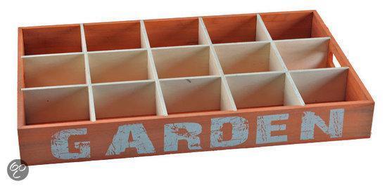Dienbladen Dienblad voor 15 glazen - oranje