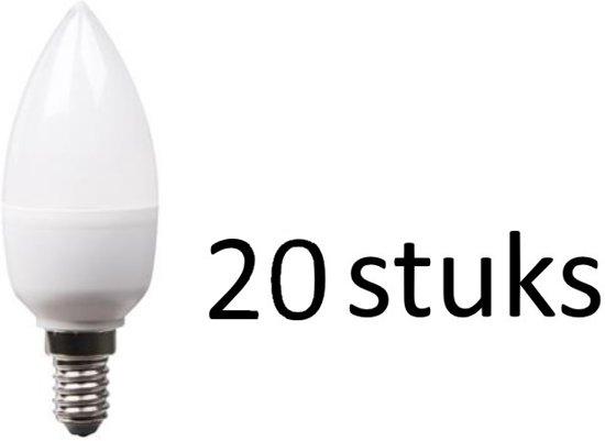 LED lamp 5.5W kaars | XQ13188 set van 20 stuks