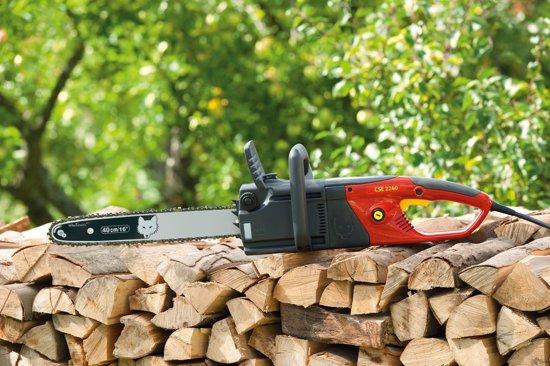 WOLF-Garten Elektrische kettingzaag CSE 2240 - zwaardlengte 40 cm - 230 V - 2.200 W