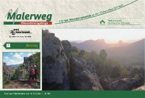 Malerweg - Sächsische Schweiz 1 : 30 000