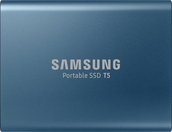 Hoge korting op de Samsung T5 500GB externe SSD
