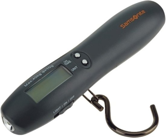 Samsonite Digital Luggage Scale Torch Black