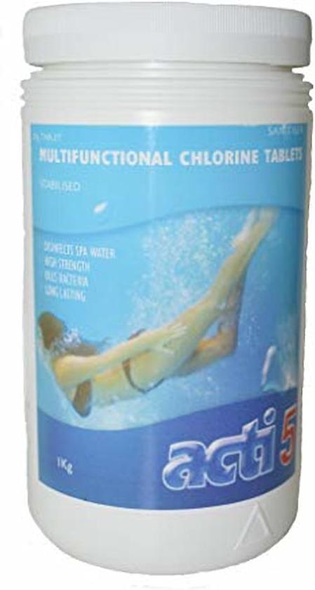 Acti chloor tabletten van 20 gr 1 kg