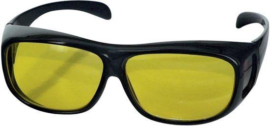 710c688874d5d7 Overzet Nachtbril - Autobril   Mistbril - Nachtzicht Auto Bril - Dames    Heren (BESTSELLER
